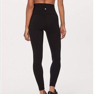 Lululemon black high waisted yoga pants
